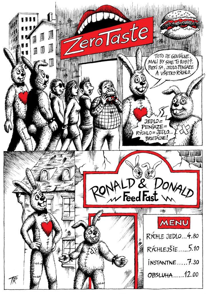 Ronald & Donald: Rýchle jedlo, strana 1