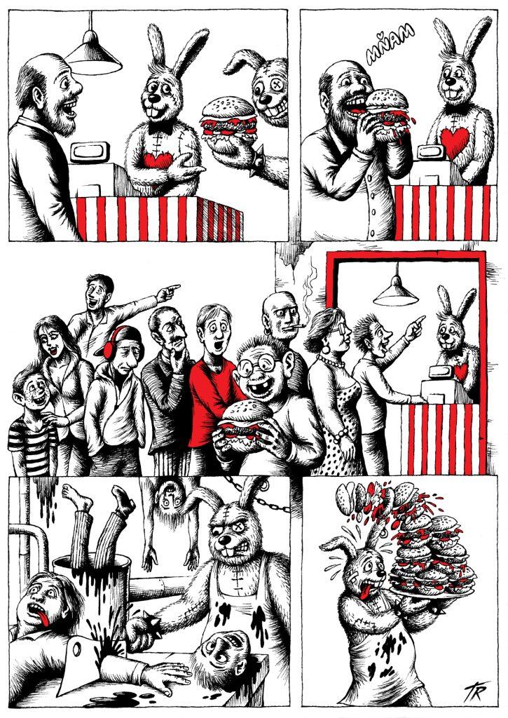 Ronald & Donald: Rýchle jedlo, strana 3