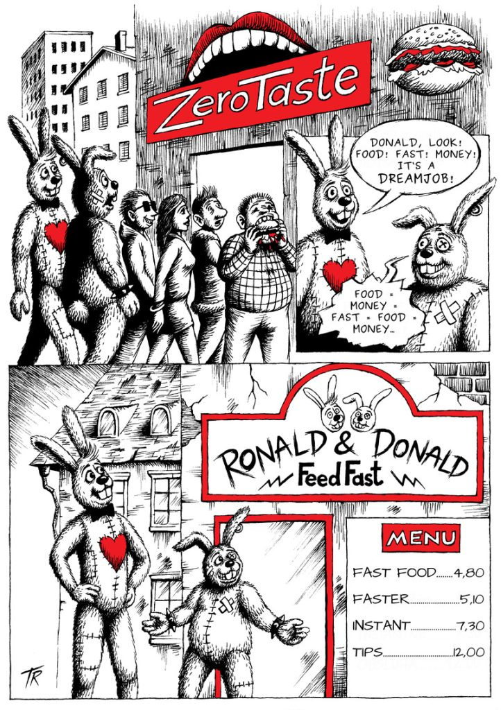 Ronald & Donald: Fast Food, page 1