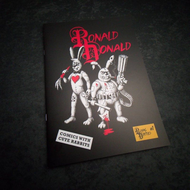 Ronald & Donald Comic book