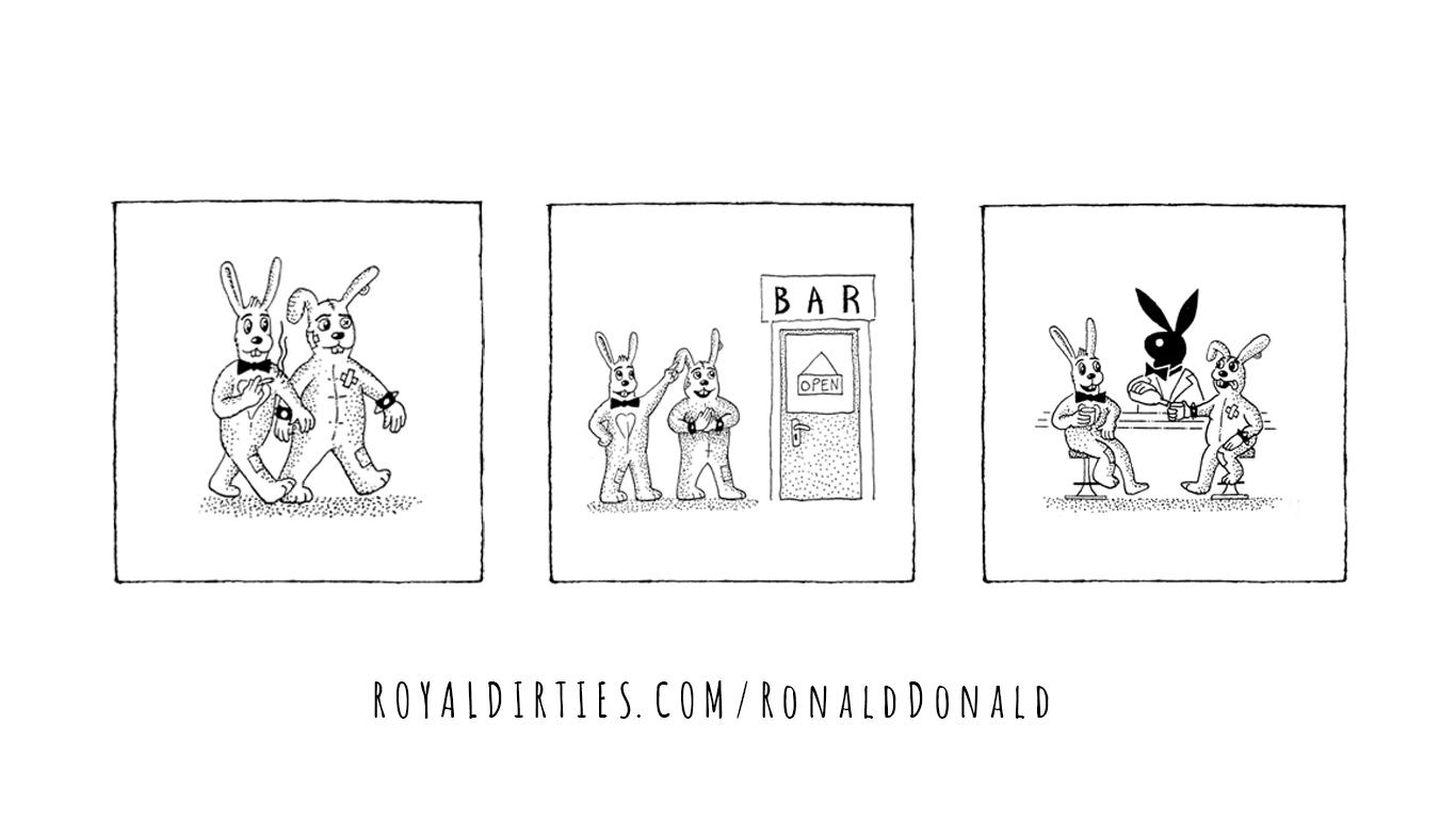 Ronald & Donald: Playboy