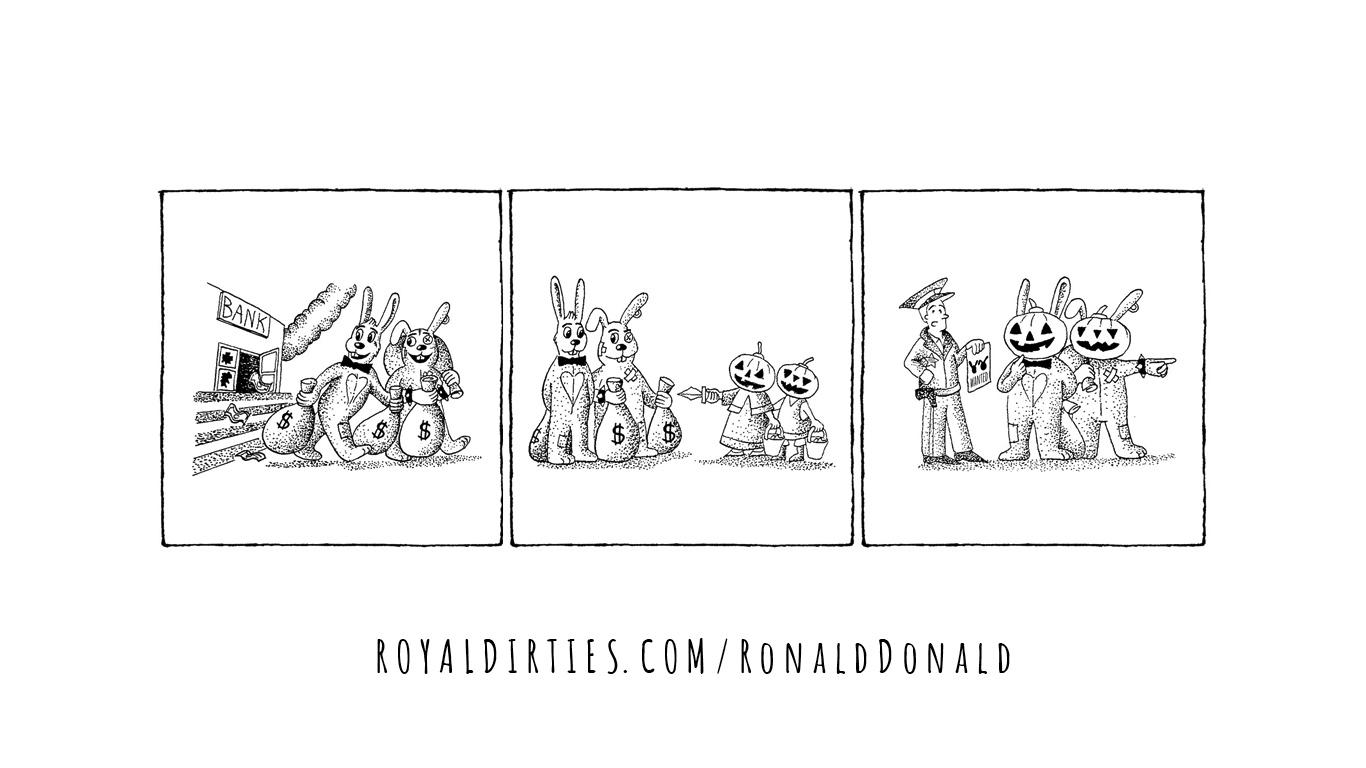 Trick Ronald Treat Donald
