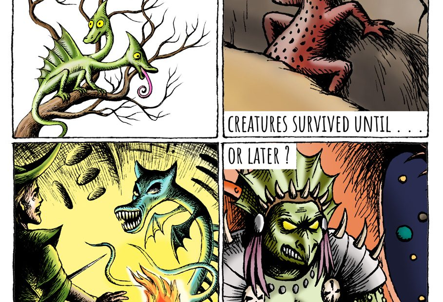 Eidolon strip: Dinosaurs